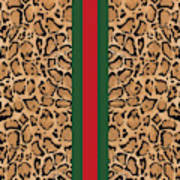 Gucci Leopard Print-1 Poster
