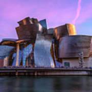 Guggenheim Museum - Bilbao, Spain Poster