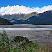 Haast Valley - New Zealand Poster