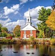 Harrisville, New Hampshire Church Poster