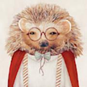 Harry Hedgehog Poster
