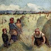Haymaking, 1895 Poster