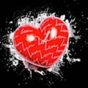 Heart Art Poster