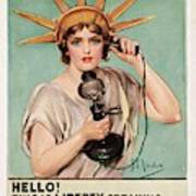Hello This Is Liberty Speaking 1918 Poster