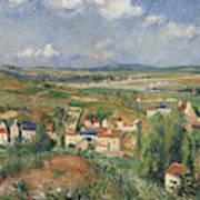 Hermitage In Summer, Pontoise, 1877 Poster