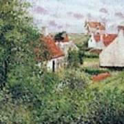 Houses At Knocke, Belgium, 1894 Poster