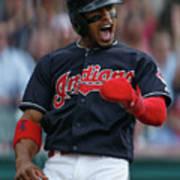 Houston Astros V Cleveland Indians Poster