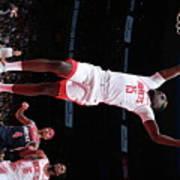 Houston Rockets V Washington Wizards Poster