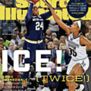 Ice Twice Arike Ogunbowale Brings Home The Title For Notre Sports Illustrated Cover Poster