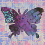 Imagine Butterfly Poster