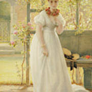 In The Walled Garden, 1869 Poster
