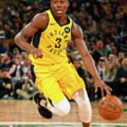 Indiana Pacers V Boston Celtics Poster