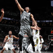 Indiana Pacers V Brooklyn Nets Poster