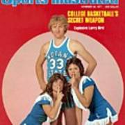 Indiana State Larry Bird Sports Illustrated Cover Poster