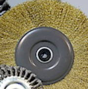 Industrial Wire Brush Attachment Poster