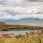 Irish Coastline Poster