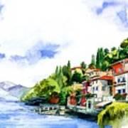 Italian Summer Vacation Poster