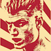 Ivan Drago Retro Propaganda Poster