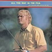 Jack Nicklaus, 1971 Pga Championship Sports Illustrated Cover Poster