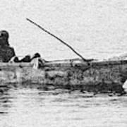 Jamaican Fisherman in Ocho Rios Jamaica Poster