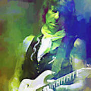 Jeff Beck, Love Is Green Poster