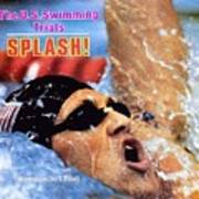Jeff Float, 1984 Us Olympic Swimming Trials Sports Illustrated Cover Poster