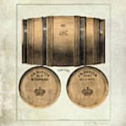 J.h. Cutter Old Bourbon Poster