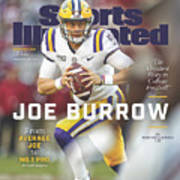 Joe Burrow From Average Joe To No. 1 Pro Sports Illustrated Cover Poster