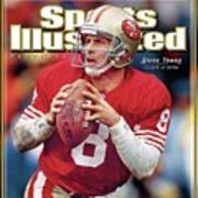 Joe Montana Hall Of Fame Class Of 2005 Sports Illustrated Cover Poster