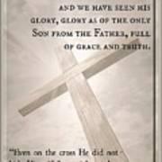 John 1 14 Poster