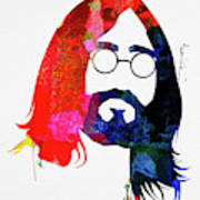 John Watercolor Poster