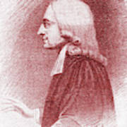 John Wesley, Anglican Minister And Christian Theologian Poster