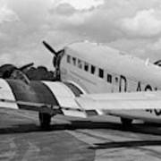 Ju-52 Taxing Poster