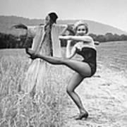 Julie Newmar Poster