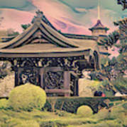 Kanagawa - The Japanese Garden Poster