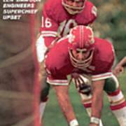 Kansas City Chiefs Qb Len Dawson, Super Bowl Iv Sports Illustrated Cover Poster