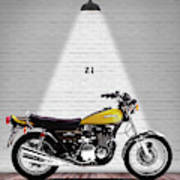 Kawasaki Z1 Poster