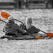 Kayaking Along The Magothy Poster