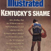 Kentuckys Shame Wildcats Basketball Scandal Sports Illustrated Cover Poster
