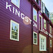 Kingston Flour Mill House Poster