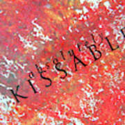 Kissable Poster