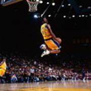 Kobe Bryant Action Portrait Poster