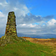 Latterbarrow In Lake District National Park Cumbria Poster
