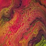 Lava Geode Poster