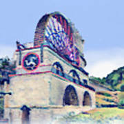 Laxey Wheel 6 Poster