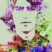 Legendary George Harrison Watercolor II Poster