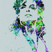 Legendary Michael Watercolor Poster