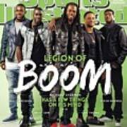 Legion Of Boom, Super Bowl Xlix Preview Sports Illustrated Cover Poster