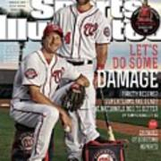 Lets Do Some Damage 2015 Mlb Baseball Preview Issue Sports Illustrated Cover Poster