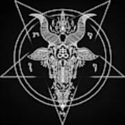 Leviathan Pentagram  Poster